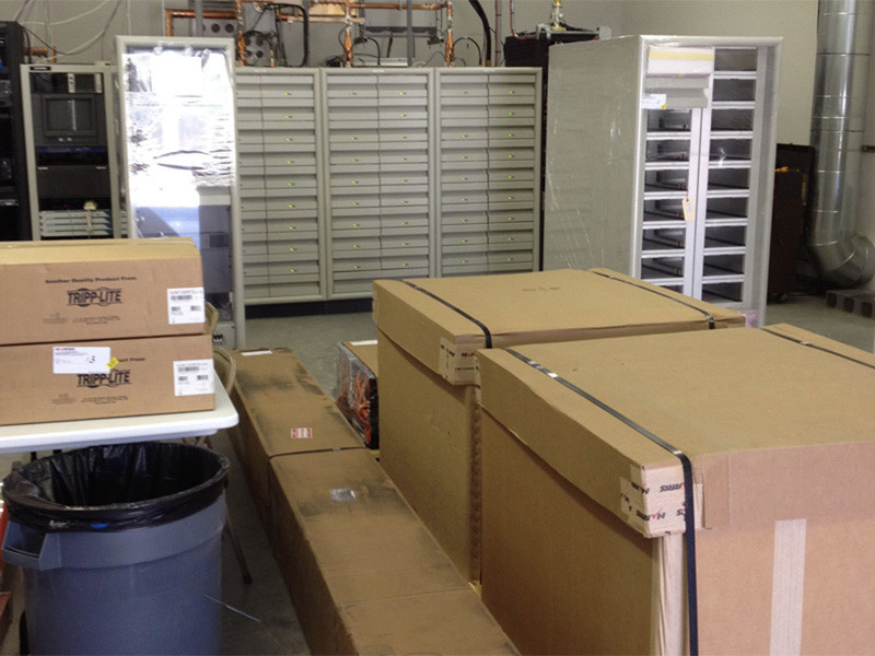 Initial delivery of Equipment March 22, 2012